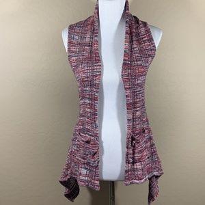 Roxy Open Vest Knit Cardigan